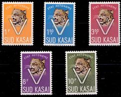 Sud Kasai 0020/24**  Léopard  MNH - Sud-Kasaï