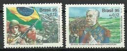 Brazil 1995 Mi 2635-2636 MNH ( ZS3 BRZ2635-2636dav89A ) - Timbres