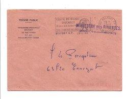 FLAMME COUPE DU MONDE D'ECHECS à BELFORT 1988 - Marcophilie (Lettres)