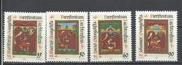 Liechtenstein. 1987. Santos Evangelistas. - Cristianismo