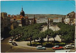 Clermont-Ferrand: CITROËN DS, AMI 6, OPEL REKORD A CARaVAN, PANHARD PL17, SIMCA ARONDE - Place De Jaude - Toerisme