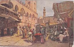AFRIQUE - EGYPTE - LE CAIRE - CAIRO  LE MARCHÉ ARABE AUX ABORS DE LA VILLE - Le Caire