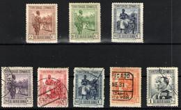 Guinea Española Nº 203,205,210,207/08,210/11 Y 213. Año 1931 - Spanish Guinea
