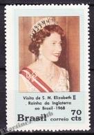 Bresil - Brazil - Brasil 1968 Yvert 874, Visit Of Queen Elizabeth II - MNH - Brasil