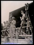 FOTO 18 X 13 CM - S.M. L'EMPEREUR D'ETHIOPIE A VISITE    19/7/59 - Familles Royales