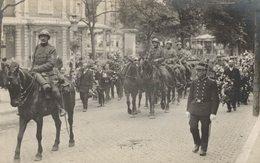 Spa - Carte-photo - Guerre 14-18 - Groupe De Militaires - 2 Scans - Guerre 1914-18