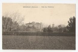 34 Brignac, Côté Du Chateau. Carte Inédite (84) - France