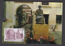 2.P.- SPAIN 1996 MAXIMUM CARD - SEPHARDIC JEWISH IN THE MIDDLE AGES IN ALMORAVID EMPIRE - CORDOBA - SPANI - Judaisme