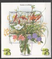 X282 SIERRA LEONE FLORA NATURE PLANTS FLOWERS OF WORLD 1KB MNH - Végétaux