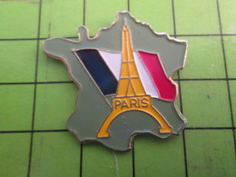 1717 Pins Pin's / Rare & De Belle Qualité  THEME : VILLES / PARIS TOUR EIFFEL FRANCE HEXAGONE - Città