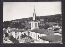 CPSM 63 - GRANDRIF - La Place Er L'Eglise - TB PLAN CENTRE VILLAGE Avec Détails Maisons - France