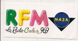 Autocollant   -   LA RADIO COULEUR 96,9 RFM   NASA - Stickers