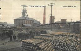 BELGIQUE     COURCELLES  Charbonnage N° 3   édition Albert Lemaître - Courcelles