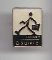 Pin's Compaq à Suivre Petit Bonhomme Réf 4575 - Informatique