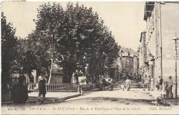 83. LE LUC.   RUE DE LA REPUBLIQUE - Le Luc