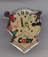 Pin's Jean Caby La Fête Anniversaire Cotillons Réf 4590 - Levensmiddelen