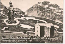 """L15H_232 - Champorcher - Santuario """"Regina Vallis Augustance"""" E Rifugio Al Lago Miserin - Altre Città"""