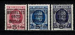 België/Belgique 1929 -  OBP/COB 273/275** MNH - Belgique