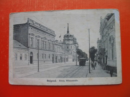 Bograd.Belgrad.Konig Milanstrasse.Tramway - Serbie