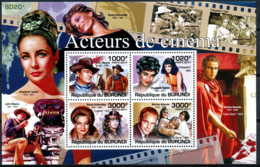 [31556]BL165 Yvert, Les Acteurs De Cinéma, John Wayne, Marlon Brando, ? - Burundi