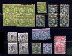Zanzibar Lot **,* - Zimbabwe (1980-...)