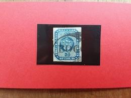 COLOMBIA - Confederazione Granadina 1860 (Ayala E Medrano) 9c. Timbrato - Siglato A. Diena + Spedizione Raccomandata - Colombia