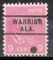 USA Precancel Vorausentwertung Preo, Locals Alabama, Warrior 743 - Vereinigte Staaten