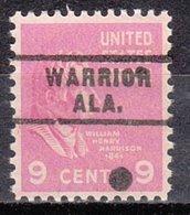 USA Precancel Vorausentwertung Preo, Locals Alabama, Warrior 743 - Etats-Unis