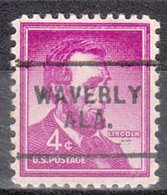 USA Precancel Vorausentwertung Preo, Locals Alabama, Waverly 703 - Etats-Unis