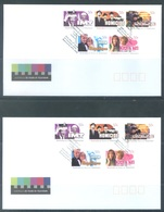 AUSTRALIA  - FDC - 24.10.2006 - 50 YEARS OF TELEVISION - Yv 2614-2623 - Lot 18596 - Premiers Jours (FDC)