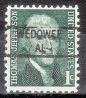 USA Precancel Vorausentwertung Preo, Locals Alabama, Wedowee 841 - Vereinigte Staaten