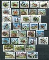 Seychelles **  Lot Divers,  Animaux Papilloons Oieaux , Etc..... - Seychelles (1976-...)