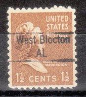USA Precancel Vorausentwertung Preo, Locals Alabama, West Blocton 843 - Etats-Unis