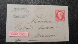 FRANCE NICE LETTER - Marcophilie (Lettres)