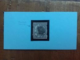 GIAPPONE 1874 - 6 Sen. Timbrato (difettoso) + Spese Postali - Usati
