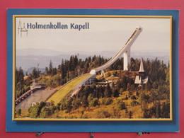 Norvège - Holmenkollen Kapell - Scans Recto-verso - Norvège
