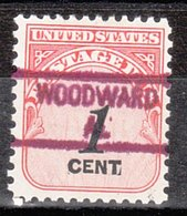 USA Precancel Vorausentwertung Preo, Locals Alabama, Woodward 841 - Etats-Unis