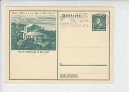 GERMANIA  1936 - Olimpiadi Garmisch - Winter 1936: Garmisch-Partenkirchen