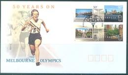 AUSTRALIA  - FDC - 1.11.2006 - MELBOURNE OLYMPICS - Yv 2624-2627 - Lot 18597 - Premiers Jours (FDC)