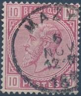 [42138]N° 38, Belle Obl 'Mazy', Nipa +7,5? - 1883 Léopold II