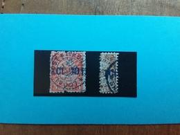 SHANGHAI Fine '800/'900 - Posta Locale - Mezzo Cent.-1 Cent. + Spese Postali - Usati