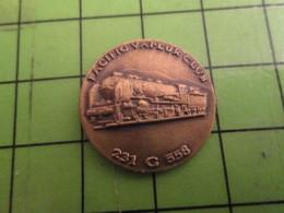 513d Pins Pin's / Rare & De Belle Qualité  THEME : TRANSPORT / LOCOMOTIVE PACIFIC VAPEUR CLUB - Animals