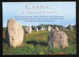 (56) Carnac - Les Alignements De Kermario - Dolmen & Menhirs