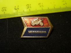 USSR Moto Sport - Soviet Sport Pin - Motorbikes