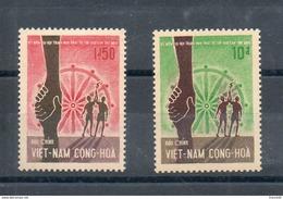 Vietnam Du Sud. 1er Anniversaire De La Jeunesse Bouddhique Mondiale - Viêt-Nam