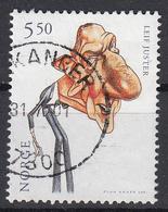 NOORWEGEN - Michel -  2001 - Nr 1395 - Gest/Obl/Us - Norvège