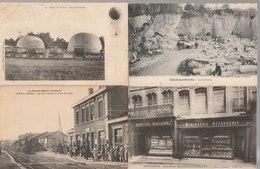 Lot De 100 Cartes Postales Anciennes Diverses Variées Et 4 Photos, Très Bien Pour Un Revendeur Réf, 324 - Cartes Postales