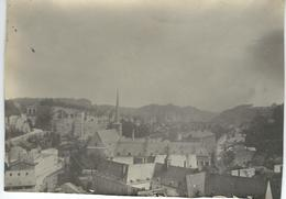 PHOTO - LUXEMBOURG - CLAUSEN Panorama Pris De Luxembourg - 07/1901 - Dimensions 11 / 8 CM - Plaatsen