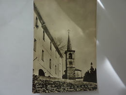 "Cartolina Viaggiata ""PERLOZ  Casa Del Pellegrino - Santuario Di N.D. De La Garde"" 1961 - Italie"