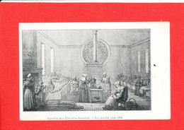 Hospice Des Enfants Assistés Santé Hopital Cpa Animée La Creche Vers 1840 - Santé